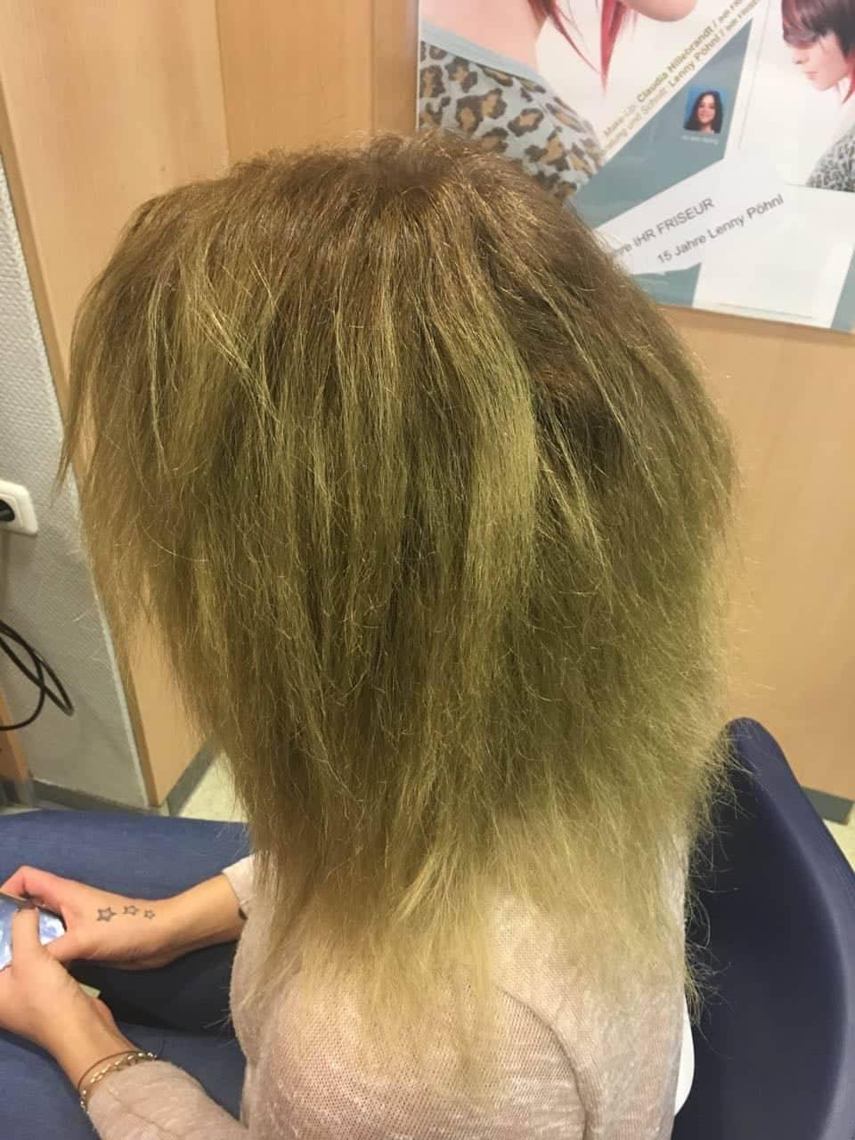 Schöne Haare Ohne Grünstich Für Andrea Florian Kein Problem Ihr