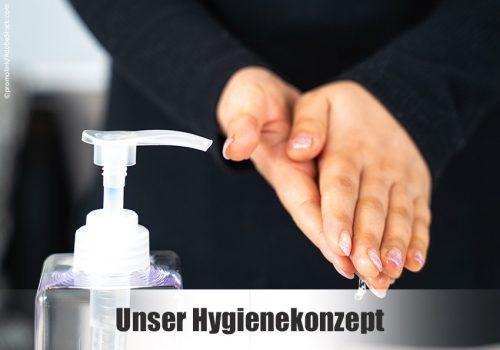 Kundeninformation zum Hygienekonzept